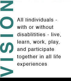 Vision All individuals - with or